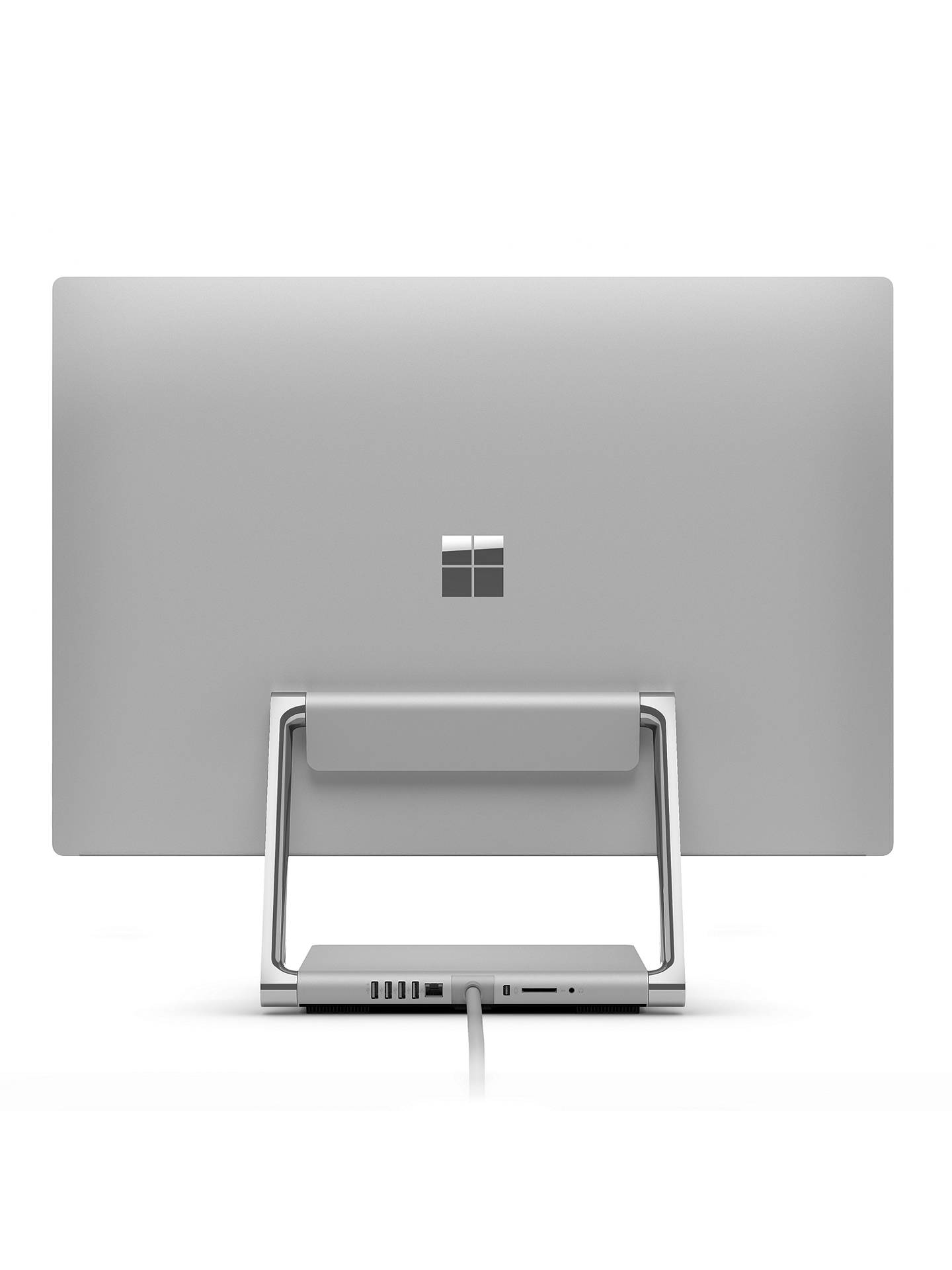 "BuyMicrosoft Surface Studio, Intel Core i7, 2TB HDD + 128GB SSD, 32GB RAM, 28"" PixelSense Display, Silver Online at johnlewis.com"