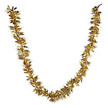 Buy John Lewis Winter Palace Matte Leaf Tinsel, L2m Online at johnlewis.com