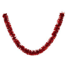 Buy John Lewis Chunky Tinsel, L2.7m Online at johnlewis.com