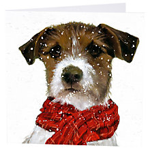 Buy Art Marketing Archie Christmas Charity Cards, Pack of 6 Online at johnlewis.com