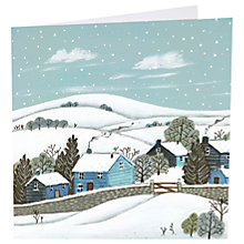 Buy Art Marketing A White Christmas Charity Cards, Pack of 6 Online at johnlewis.com