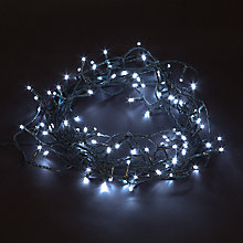 Buy Energiser 100 LED Christmas Lights, Ice White, 8.4m Online at johnlewis.com