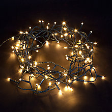 Buy Energiser 100 LED Christmas Lights, Pure White, 8.4m Online at johnlewis.com