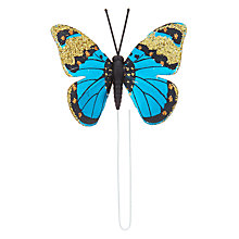 Buy John Lewis Tales of the Maharaja Wired Butterfly Tree Decoration, Set of 4 Online at johnlewis.com