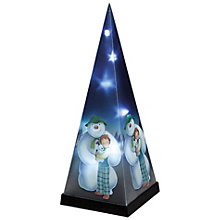 Buy The Snowman, Snowman and Snowdog LED Laser Pyramid Online at johnlewis.com