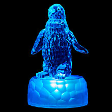 Buy John Lewis Morphing Mini Penguin LED Christmas Light Online at johnlewis.com