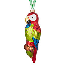 Buy John Lewis Lima Llama Big Parrot Bauble Online at johnlewis.com