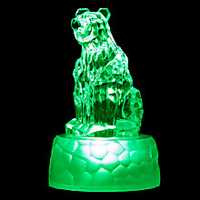 Buy John Lewis Morphing Mini Polar Bear LED Christmas Light Online at johnlewis.com