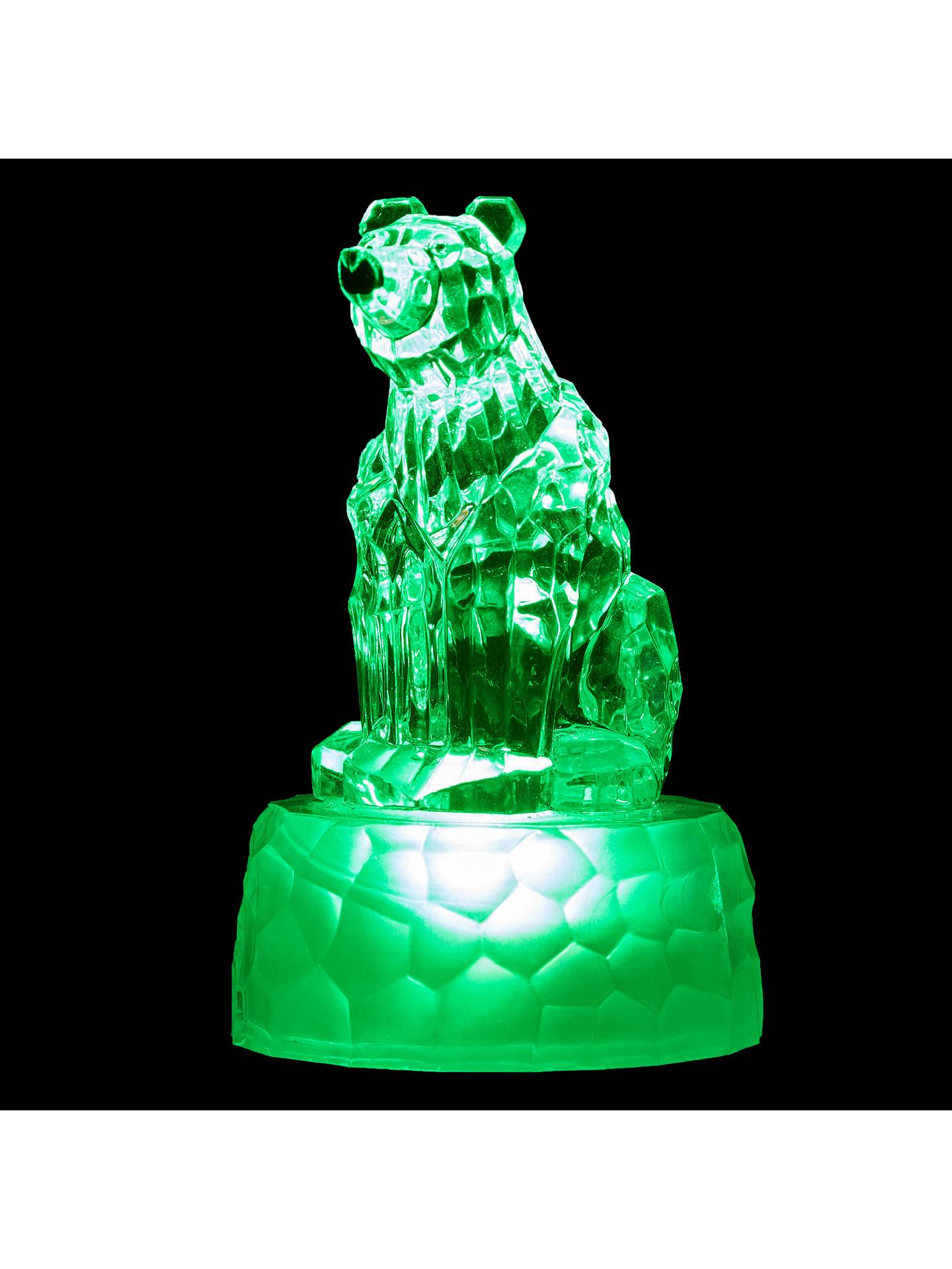buyjohn lewis morphing mini polar bear led christmas light online at johnlewiscom