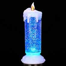 Buy John Lewis Colour Changing LED Church Candle Online at johnlewis.com