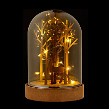Buy John Lewis LED Deer Dome Christmas Light Online at johnlewis.com