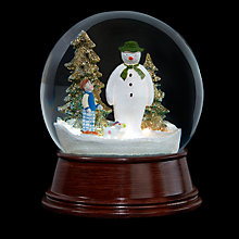 Buy The Snowman, Snowman and Snowdog LED Snowglobe Online at johnlewis.com