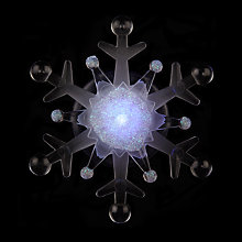 Buy John Lewis LED Morphing Snowflake Christmas Light Online at johnlewis.com