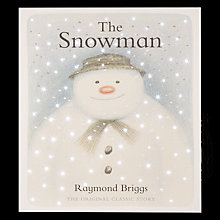 Buy The Snowman, Snowman LED Lit Canvas Online at johnlewis.com