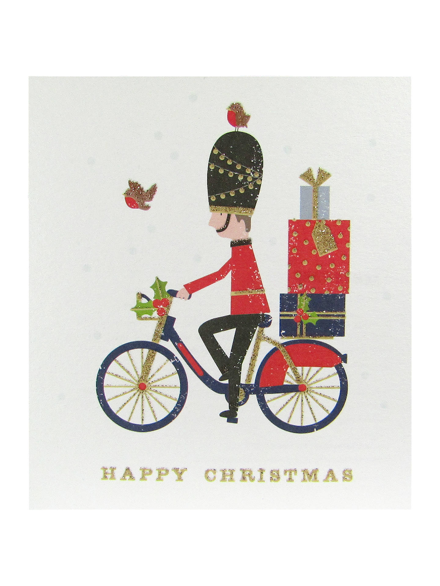 Woodmansterne Cycling Grenadier Charity Christmas Cards, Pack of 5 ...