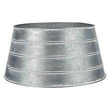 Buy John Lewis Highland Myths Galvanised Tree Skirt, Silver Online at johnlewis.com