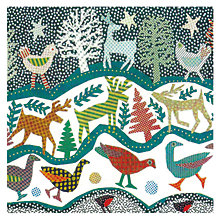Buy Museums and Galleries Deep Frieze Charity Christmas Cards, Pack of 8 Online at johnlewis.com