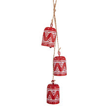 Buy John Lewis Folklore Wood Bell Tree Decoration Online at johnlewis.com