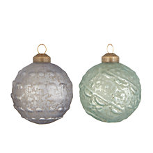 Buy John Lewis Highland Myths Mini Treasure Bauble, Box of 12 Online at johnlewis.com