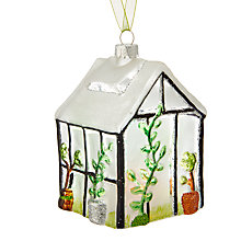 Buy John Lewis Into the Woods Greenhouse Tree Decoration Online at johnlewis.com