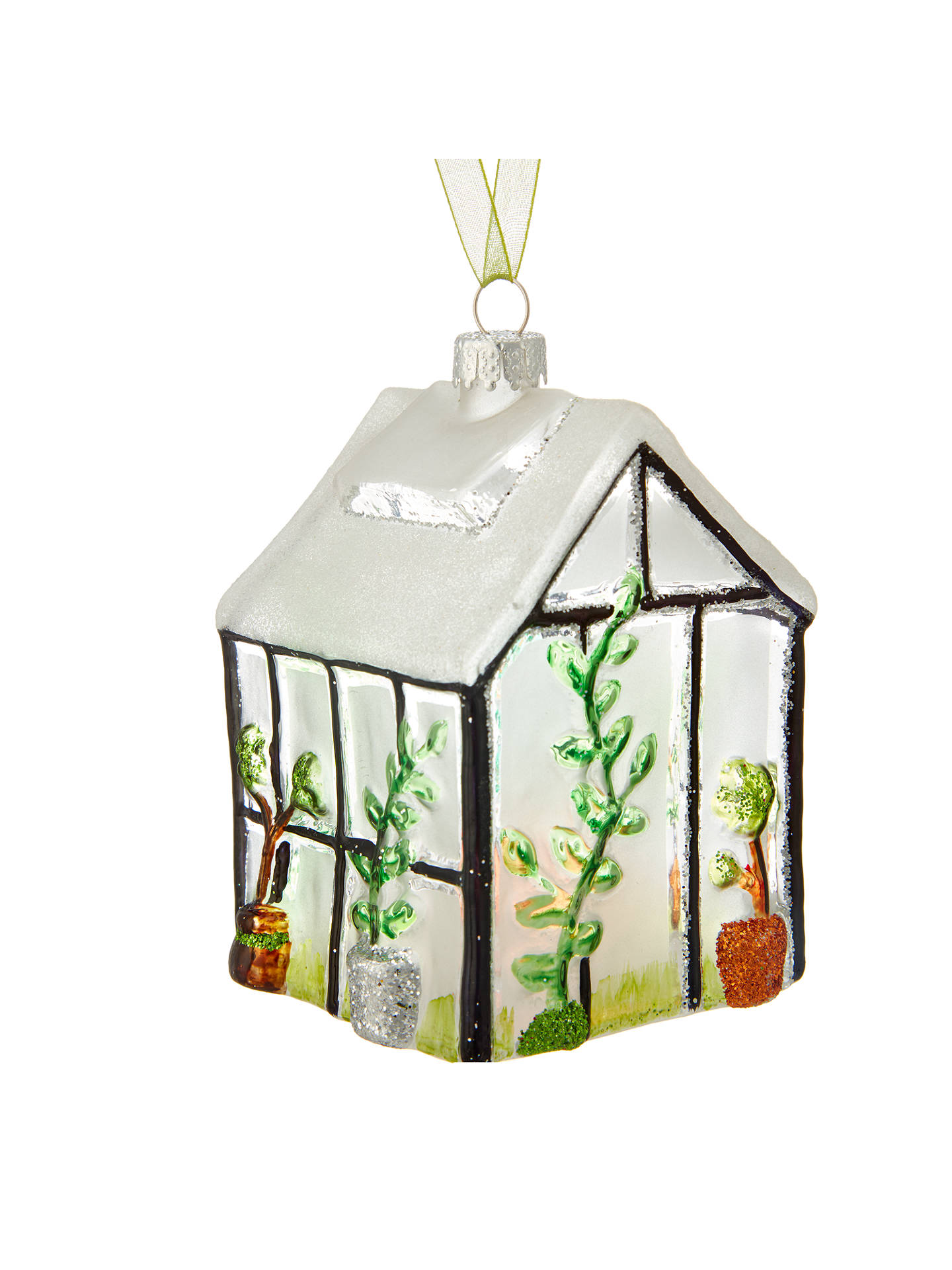 John Lewis Christmas Tree Themes.John Lewis Into The Woods Greenhouse Tree Decoration At John