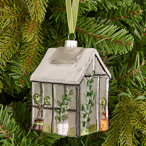Buy John Lewis Into the Woods Greenhouse Tree Decoration  John Lewis