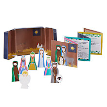 Buy John Lewis Little Nativity Play Set Online at johnlewis.com