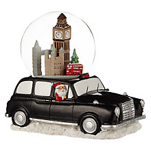 Buy John Lewis London Taxi Snow Globe Online at johnlewis.com