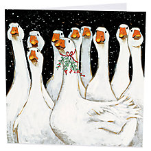 Buy Art Marketing Goosey Gander Charity Cards, Pack of 6 Online at johnlewis.com