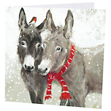 Buy Art Marketing Little Donkeys Charity Cards, Pack of 6 Online at johnlewis.com