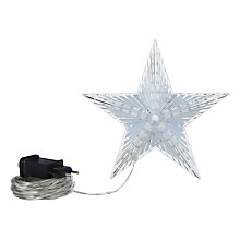 Buy John Lewis LED Christmas Star Tree Topper Online at johnlewis.com