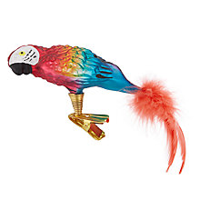 Buy John Lewis Lima Llama Parrot Clip On Tree Decoration Online at johnlewis.com