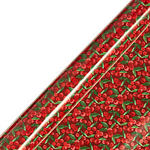 Buy John Lewis Red Ditsy Berry Gift Wrap, W70 x L300cm, Roll Length, 3m Online at johnlewis.com