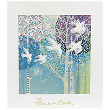 Buy Woodmansterne Peace Charity Christmas Cards, Pack of 5 Online at johnlewis.com