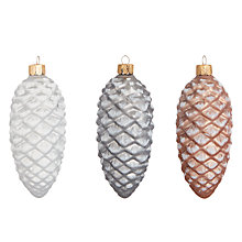 Buy John Lewis Highland Myths Pine Cone Trio Online at johnlewis.com