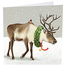 Buy Art Marketing Santas Helpers Charity Cards, Pack of 6 Online at johnlewis.com
