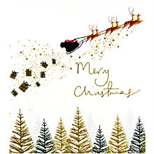 Buy Woodmansterne Sleigh Bells Ring Charity Christmas Cards, Pack of 5 Online at johnlewis.com