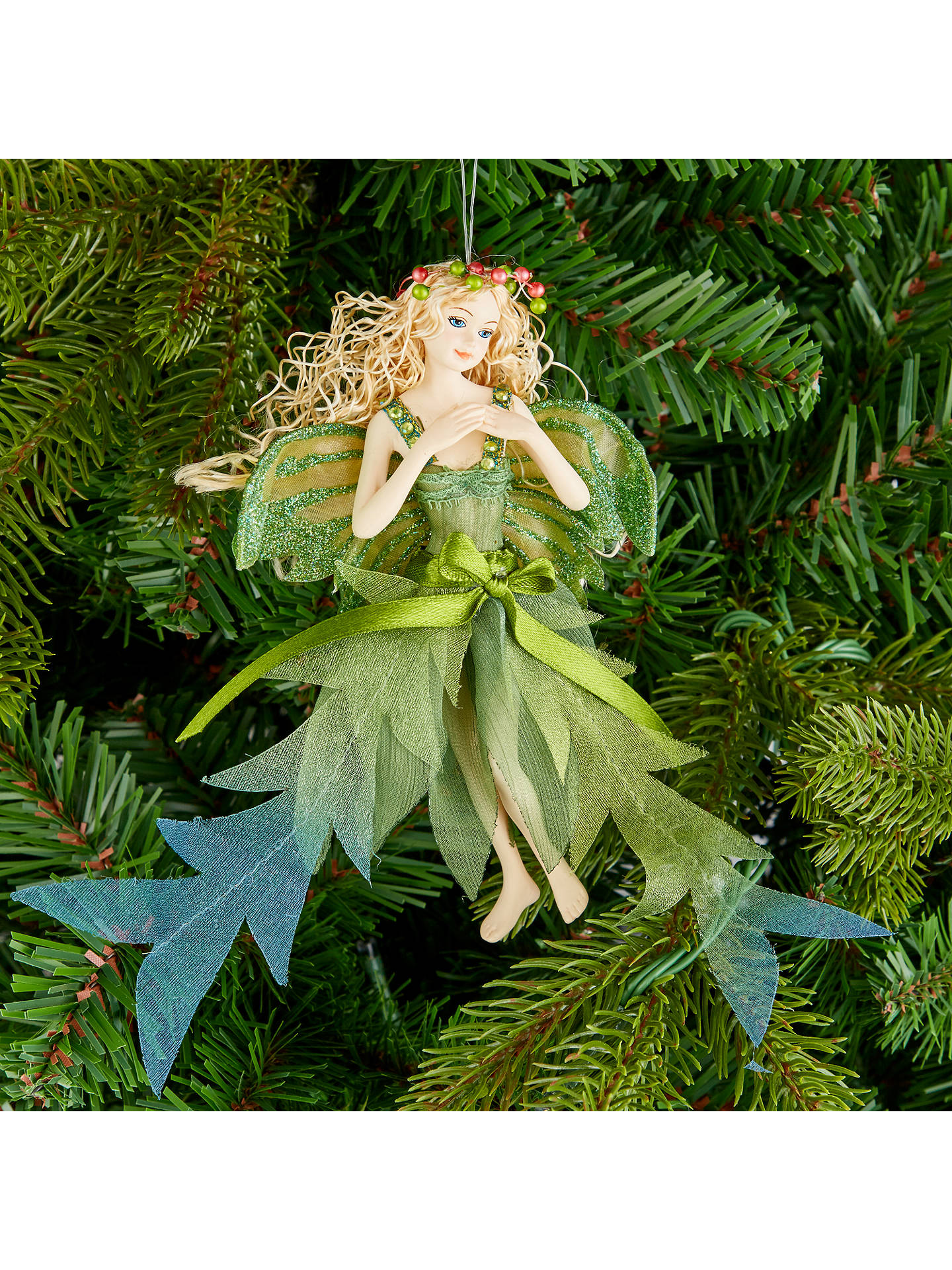 John Lewis Christmas Tree Themes.John Lewis Into The Woods Woodland Fairy Tree Decoration At