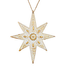 Buy John Lewis Winter Palace Starburst Tree Decoration Online at johnlewis.com