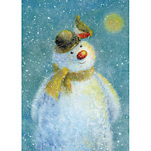 Buy Museums and Galleries Snowman Charity Christmas Cards, Pack of 8 Online at johnlewis.com