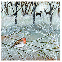 Buy Museums and Galleries Winter Woodland Charity Christmas Cards, Pack of 8 Online at johnlewis.com