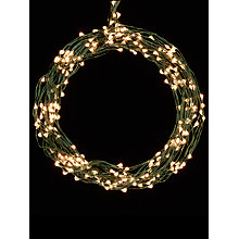 Buy John Lewis 160 LED Waterfall Christmas Lights, 9m, Pure White, 4ft Tree Online at johnlewis.com