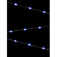 Buy John Lewis 160 LED Ice White Christmas Lights, 17m Online at johnlewis.com