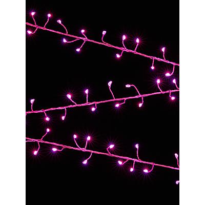 John Lewis 240 Fire Cracker Lights, Multi, 11m