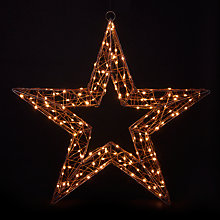 Buy John Lewis LED Christmas Star Online at johnlewis.com