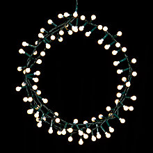 Buy John Lewis 500 LED Berry Lights, Pure White, 19m Online at johnlewis.com