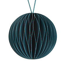 Buy Vivid Mitsuko Honeycomb Paper Bauble, Blue Online at johnlewis.com