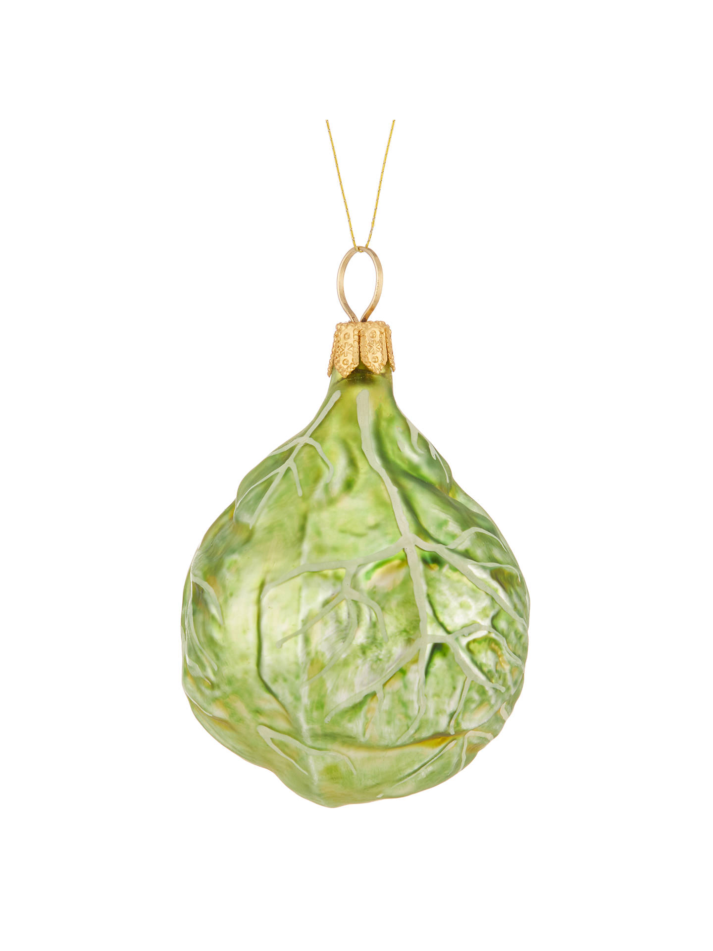 BuyJohn Lewis Into the Woods Brussels Sprout Bauble Online at johnlewis.com