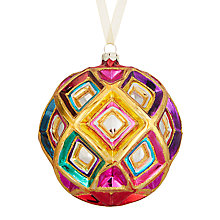 Buy John Lewis Tales of the Maharaja Faceted Rainbow Bauble, Multi Online at johnlewis.com