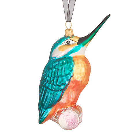 Buy John Lewis Tales of the Maharaja Kingfisher Bauble Online at johnlewis.com